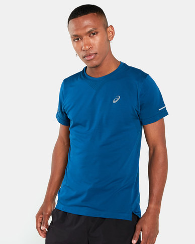 ASICS Seamless Short Sleeve Blue