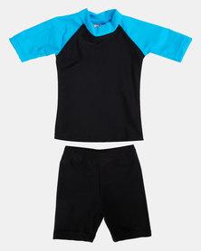 Utopia Boys Basic Fun In the Sun Swim UV Suit Blue/Black
