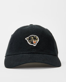 RVCA Panther Dad Hat Cap Black