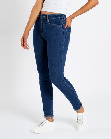 Levi's ® 721 High Rise Skinny Jeans Carbon Clean