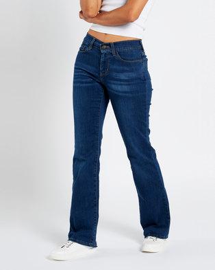 Levi's ® Curvy Bootcut Jeans Moonlight Reflection