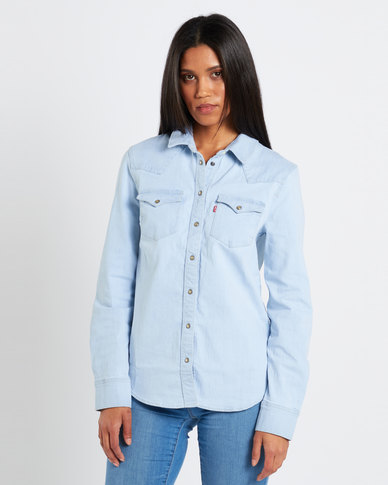 Levi's ® Frances Ultimate Western Shirt Blue