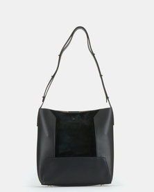 BELLINI Laether Shopper Bag Black
