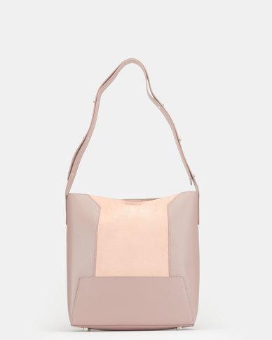 BELLINI Laether Shopper Bag Mauve