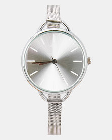 Digitime Chiffon Watch Silver