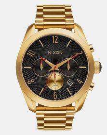 Nixon Bullet Chrono Watch Black/Gold