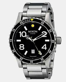 Nixon Diplomat SS Watch Black/Silver