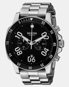 Nixon Ranger Chrono Watch Black/Silver