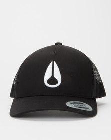Nixon Iconed Trucker Cap Black / White