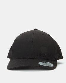 Nixon Lockup Snapback Cap All Black