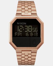 Nixon Re-Run Watch All Rose Gold
