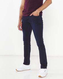 Soviet Double Dip Marcus #9 Slim Fit Denim Jeans Blue
