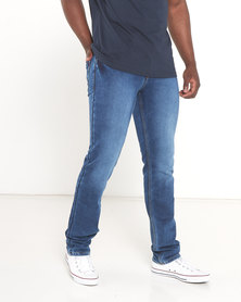 Soviet Commodus #9 Slim Fit Denim Jeans Indigo