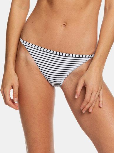 Roxy Beach Classics Reg Bottom Black Stripes