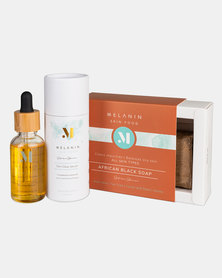Melanin Skin Food - Ultimate Skin Glow Set- For Healthy & Glowing Skin - Suitable for All Skin Types