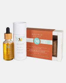 Melanin Skin Food -Ultimate Skin Glow Set- For Healthy & Glowing Skin - Suitable for All Skin Types