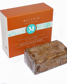 Melanin Skin Food - Miracle Cleansing Face Wash- African Black Soap - 120gr.