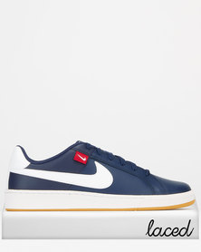 Nike Court Royale Tab Sneakers Midnight Navy/White