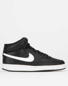 Nike Court Vision Mid Sneakers White/Black