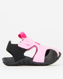 Nike Girls Psychic Sunray Protect 2 Sandals Pink