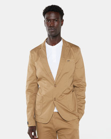 Jonathan D Norway Suit Jacket Camel