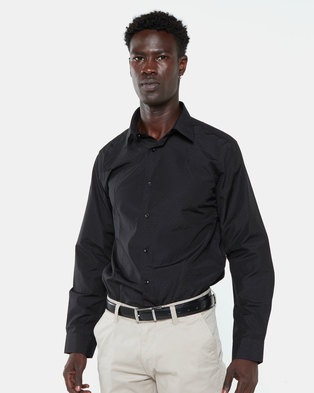 Jonathan D Connery Tailored Fit Shirt Black