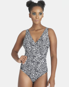 Contempo Monotone Full Piece Black/White