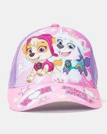 Character Brands Girls Paw Patrol Cap Pink