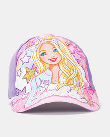 Character Brands Barbie Peak Cap Pink