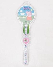 Character Brands Peppa Pig Watch Pink