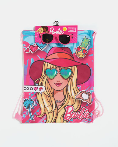Character Brands Barbie Bag and Sunnies Pink