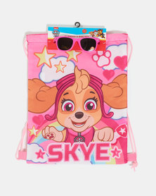 Character Brands Girls Paw Patrol  Bag and Sunnies Pink