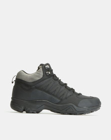 Bronx Men Sherman Hiker Sneakers Black