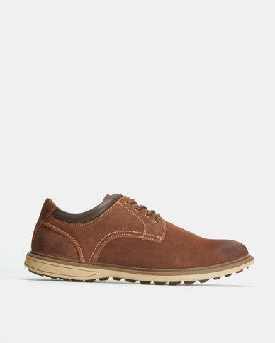 Bronx Men Keaton Casual Shoes Coffee