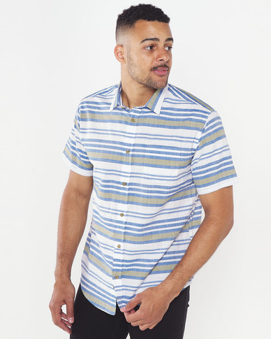 JCrew Horizontal Stripe Shirt Multi