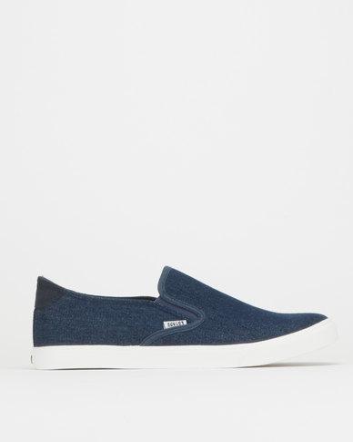 Soviet Thor Denim Sneakers Blue