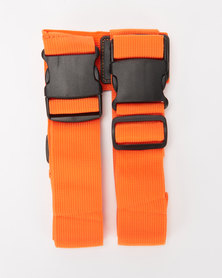 You & I Heavy Duty Luggage Strap Orange