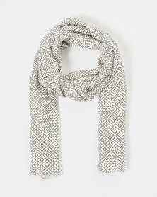 Joy Collectables Flower Print Scarf Multi