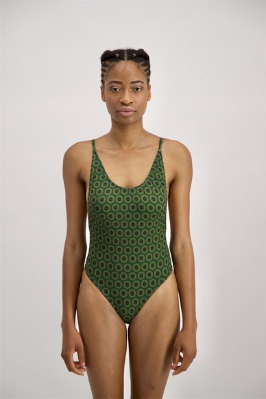 ShweShweKini Active Wear Mahali Swimsuit Green
