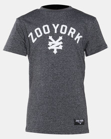 Zoo York Boys Jasper Tee Charcoal