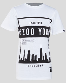 Zoo York Boys Basic Tee White