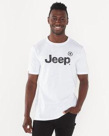 Jeep Big Logo Tee White
