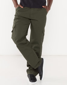 Jeep Cargo Pants Olive