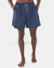 Jeep Classic Elasticated Swimshorts Navy