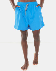 Jeep Classic Elasticated Swimshorts Blue