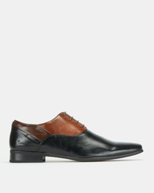 Pierre Cardin Formal Lace Up Black/Brown