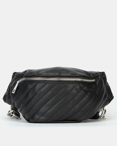 Blackcherry Bag Biker Belt Bag Black