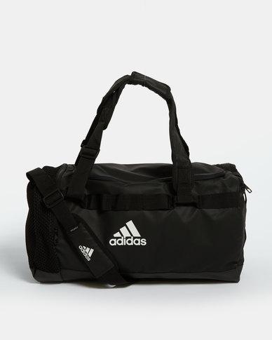 adidas Performance TR Convertable Duffle Bag Medium Black