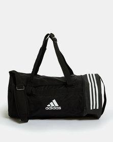 adidas Performance Convertable 3-Stripes Duffle Bag Medium Black