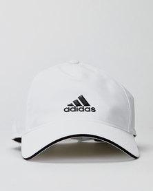 adidas Performance C40 5 Panel Climalite Cap White